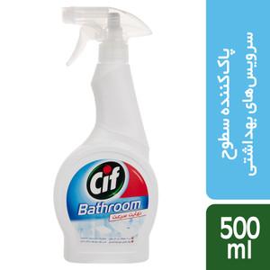 اسپری تمیزکننده سطوح حمام و دستشویی سیف مقدار 500 گرم