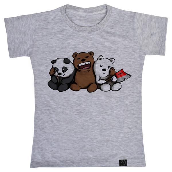 تی شرت پسرانه 27 طرح خرس کد V09