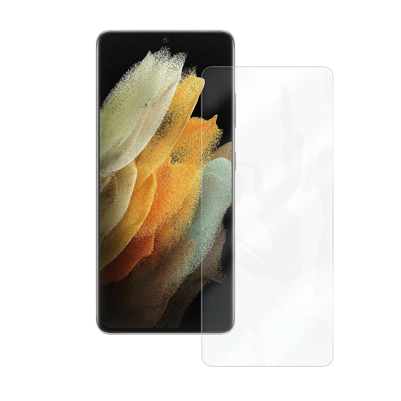 بررسی و {خرید با تخفیف} محافظ صفحه نمایش آنتی بلو راک اسپیس مدل 180L-01Y مناسب برای گوشی موبایل سامسونگ Galaxy S21 Ultra اصل
