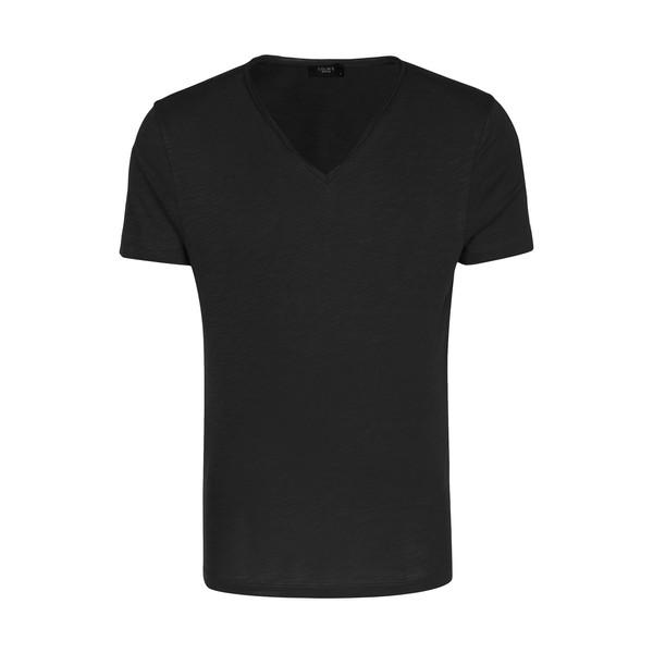 تیشرت مردانه کالینز مدل 142011102-BLACK
