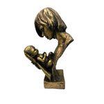 مجسمه مدل مادر و فرزند