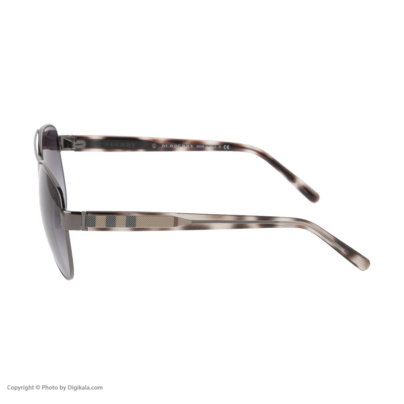 عینک آفتابی زنانه بربری مدل BE 3084S 12278G 60 -  - 4