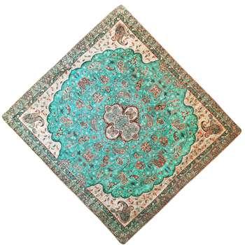 رومیزی ترمه مدل شاه عباسی کد SD1-1