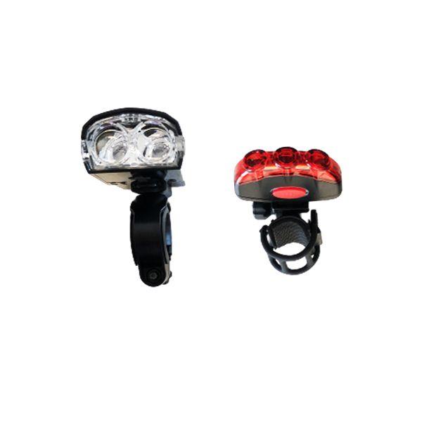 چراغ جلو و عقب دوچرخه اوکی مدل xc-122