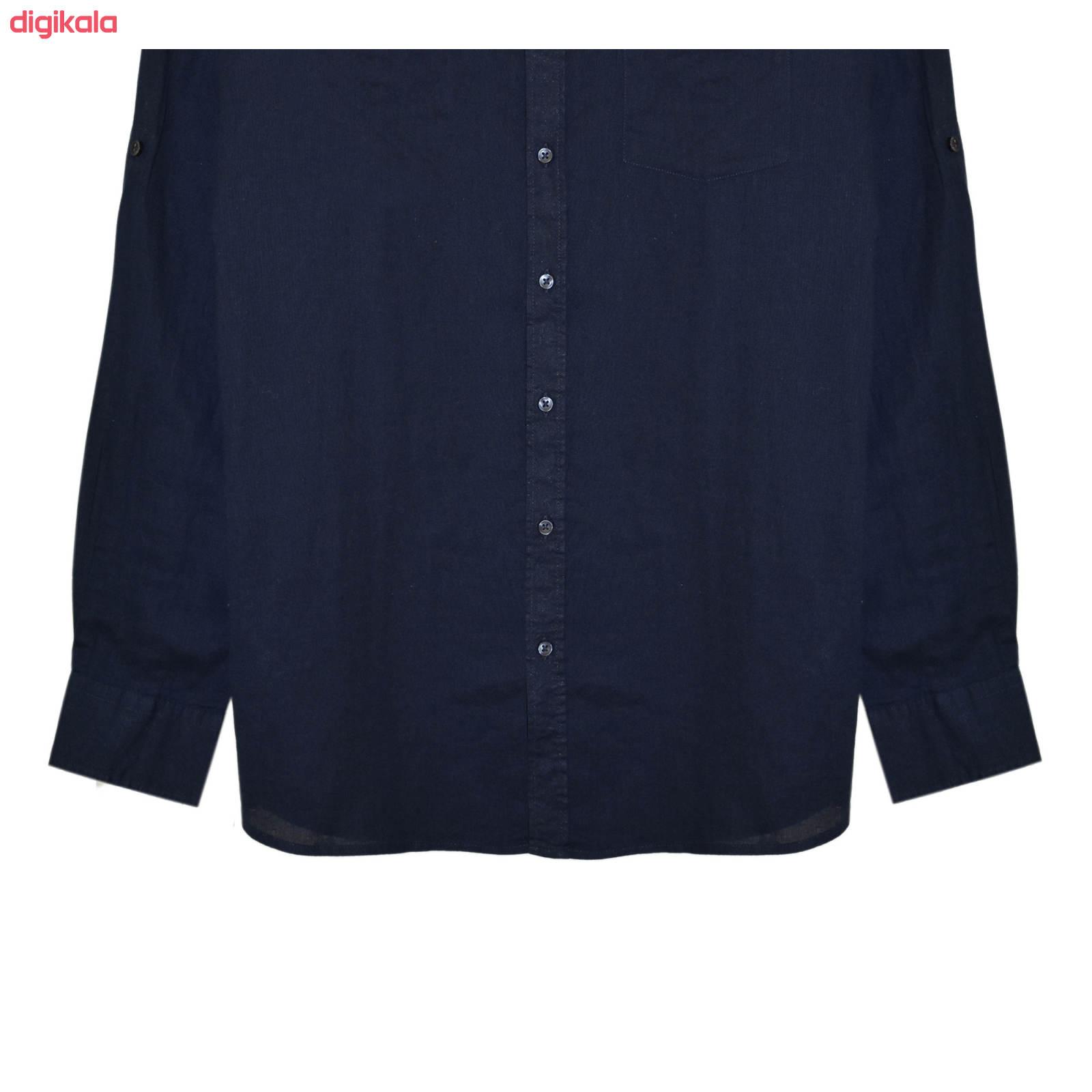 پیراهن آستین بلند مردانه لیورجی مدل 3257641 main 1 2