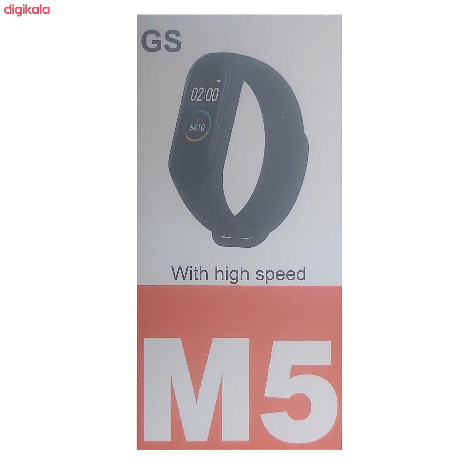 مچ بند هوشمند مدل M5-GS main 1 3