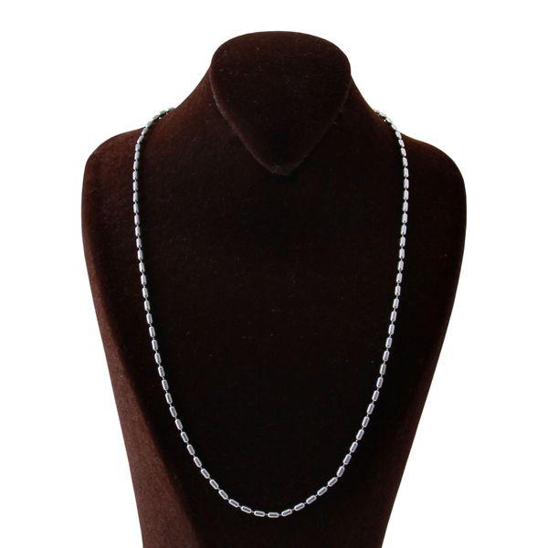 زنجیر نقره زنانه بازرگانی میلادی کد ZR_010