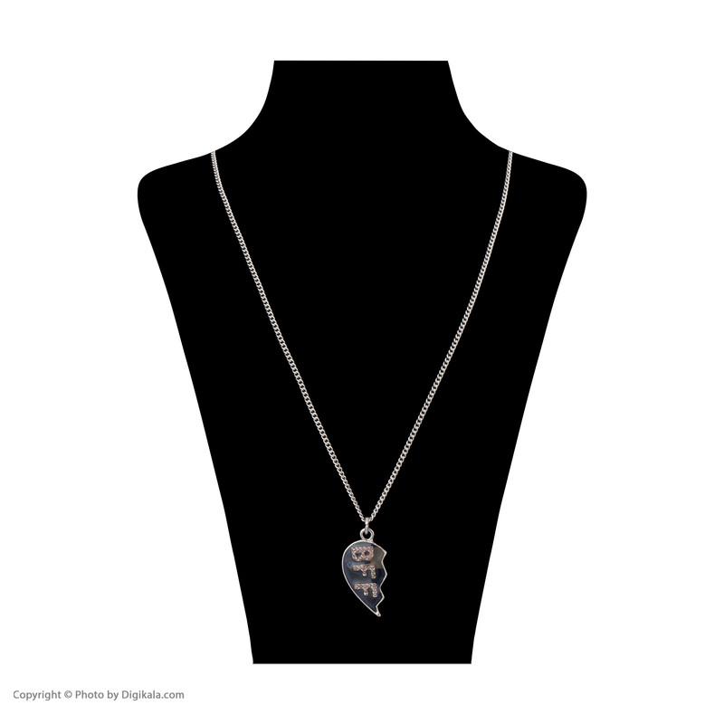 گردنبند دخترانه مانسون چیلدرن مدل 5930929700 مجموعه 2 عددی