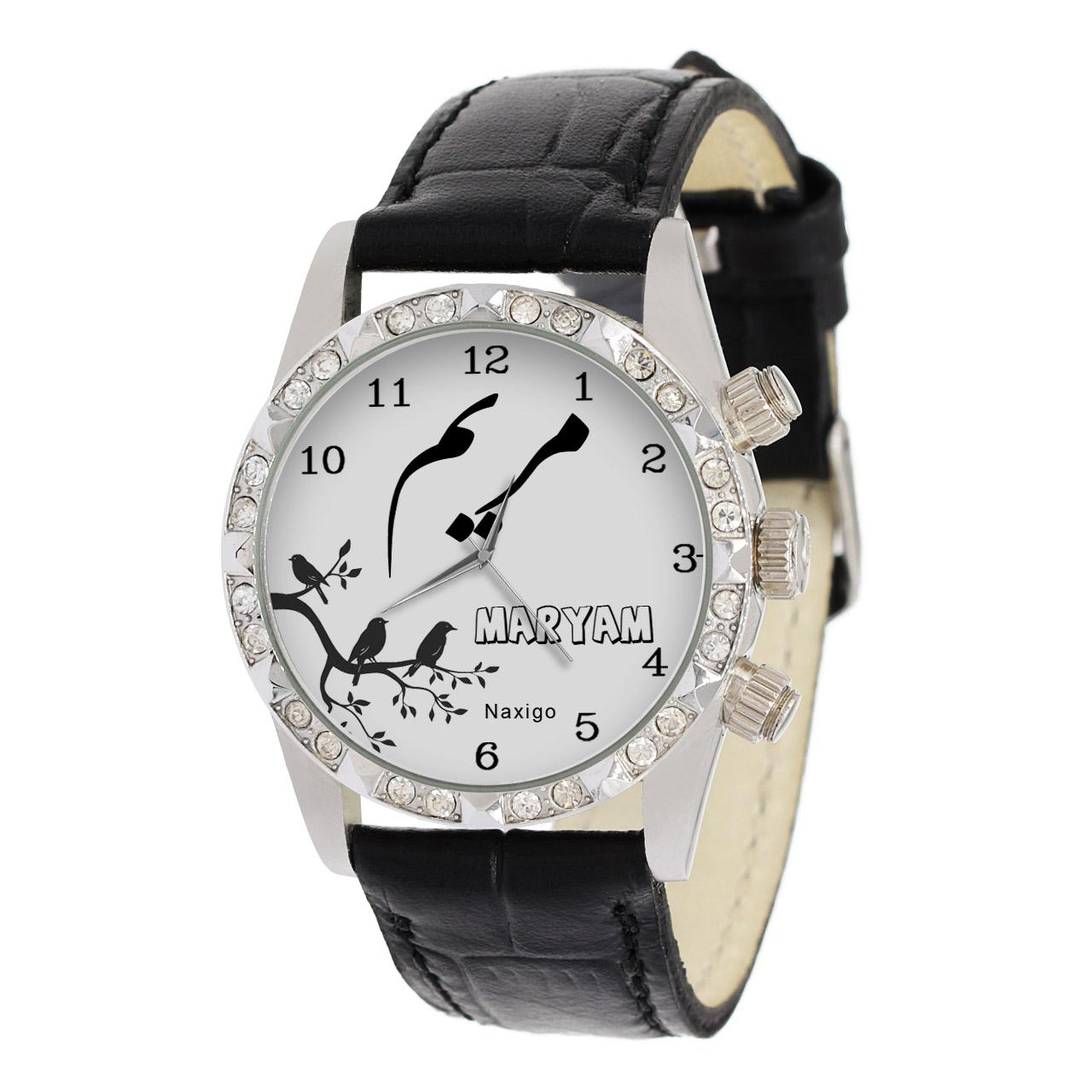 خرید و قیمت                      ساعت مچی  زنانه ناکسیگو طرح مریم کد LS3771