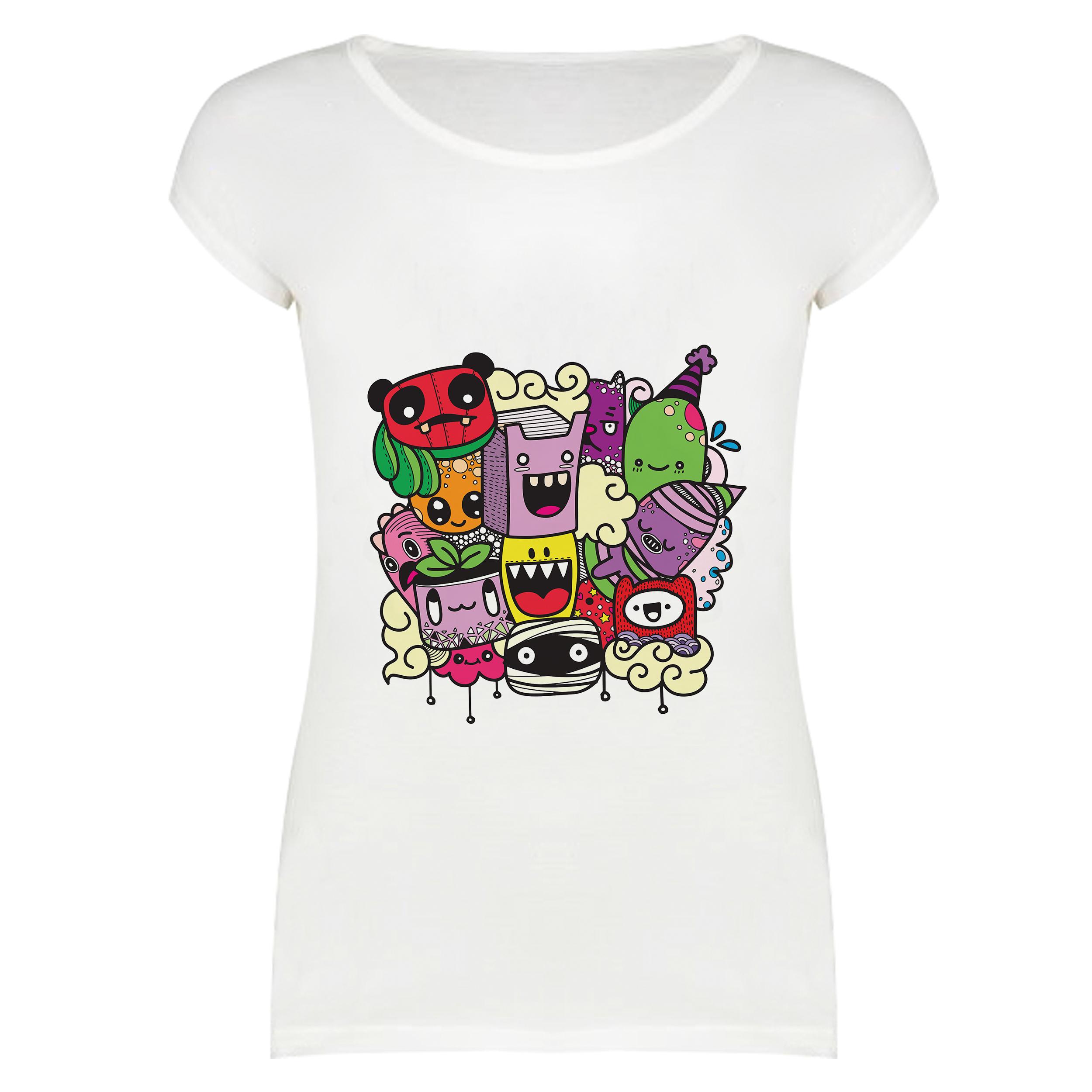 تی شرت زنانه مدل TS01-330