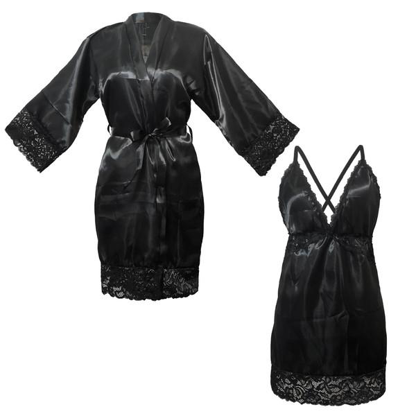 ست لباس خواب زنانه شیک فام کد 339