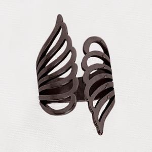 انگشتر دخترانه مدل بال فرشته کد tda130