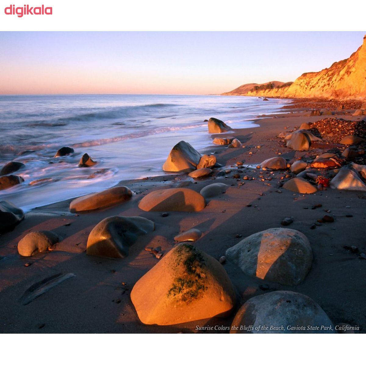 تابلو بوم طرح ساحل کد Best Nature 32-N
