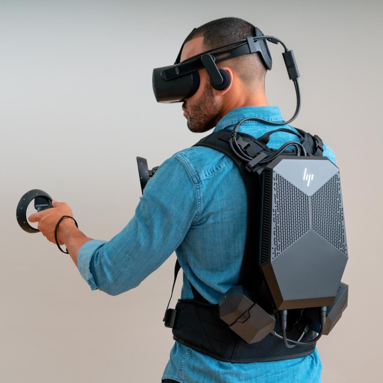 کامپیوتر دسکتاپ اچپی مدل Z VR Backpack G1