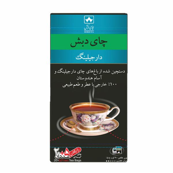 چای کیسه ای دارجیلینگ چای دبش بسته 25 عددی