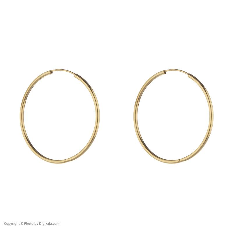 گوشواره طلا 18 عیار زنانه مدیسا مدل E2001