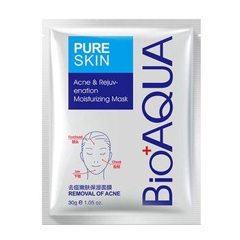 ماسک صورت بایوآکوا مدل pure skin وزن 30 گرم