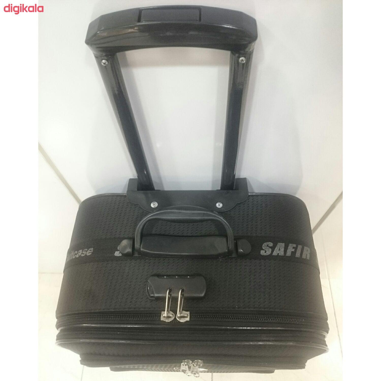 چمدان سفیر مدل 424 سایز متوسط main 1 4