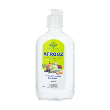 محلول ضد عفونی کننده سبزیجات افروز مدل White حجم 250 میلی لیتر
