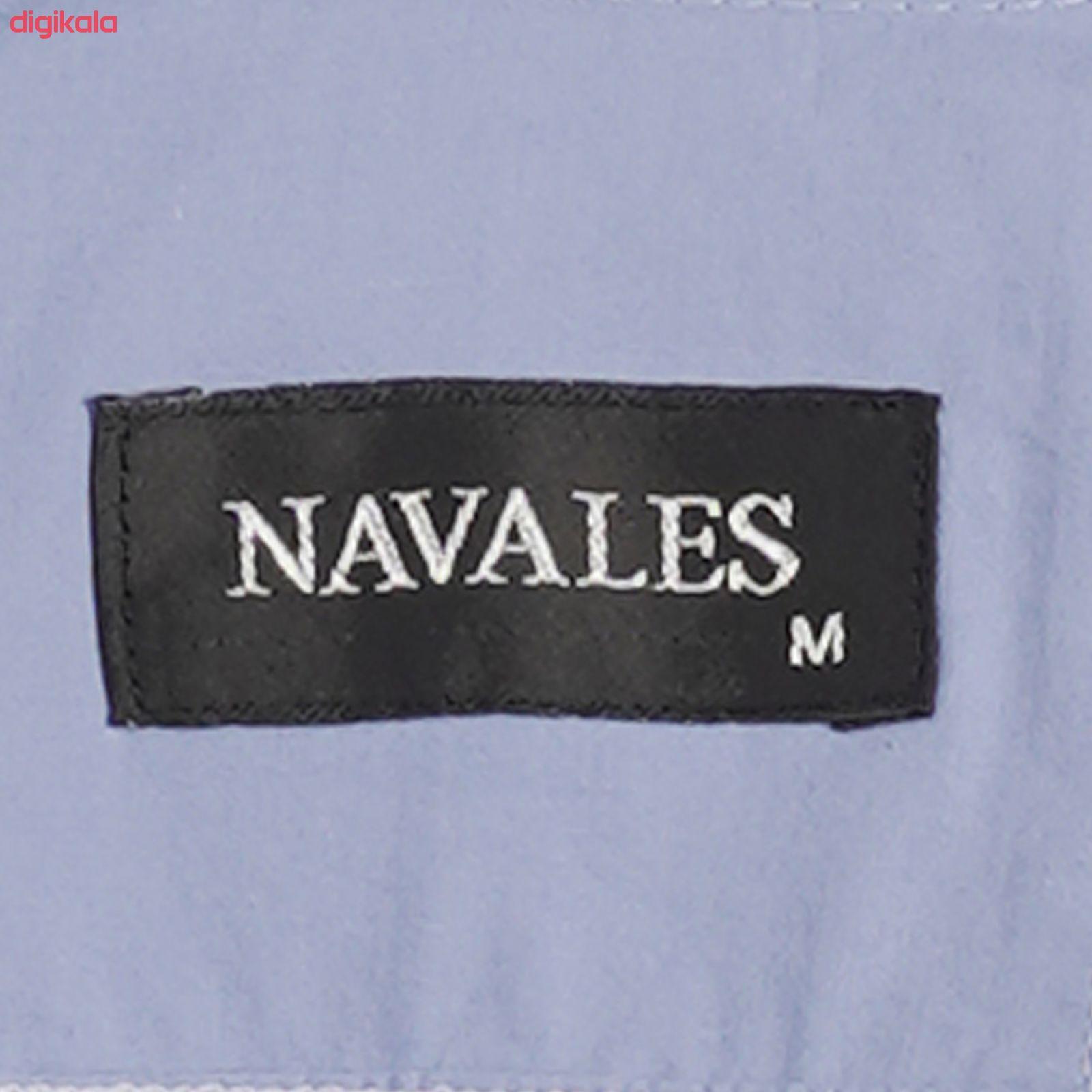 پیراهن آستین بلند مردانه ناوالس مدل PN-L main 1 3