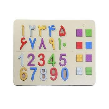 بازی آموزشی امید مدل اعداد کد 001