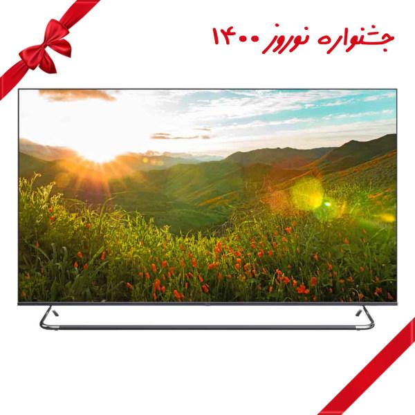 تلویزیون ال ای دی هوشمند جی پلاس مدل GTV-75KE821S سایز 75 اینچ