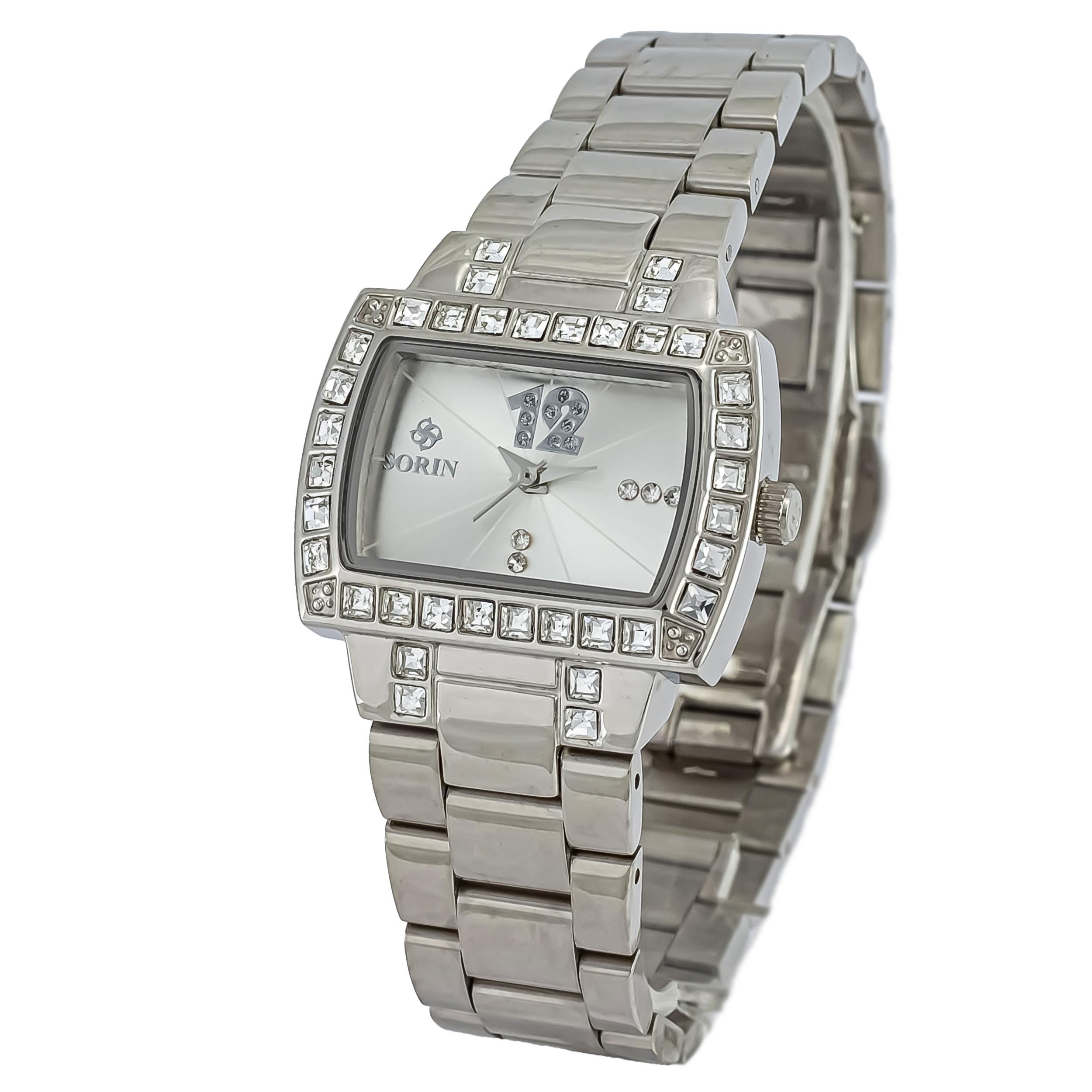 ساعت مچی عقربه ای زنانه سورین مدل SS0407L              ارزان