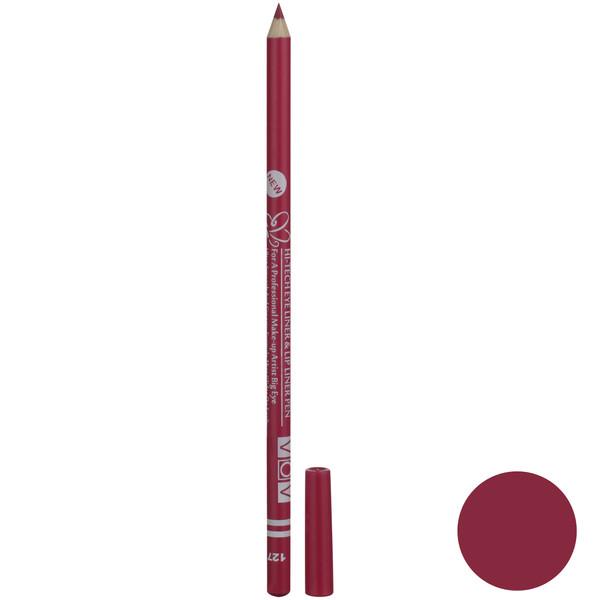 مداد چشم و لب وو شماره 127