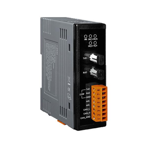 مبدل CAN به فیبر آی سی پی دس مدل I-2533