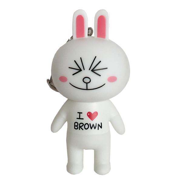 آویز عروسکی مدل خرگوش شاد کد STI