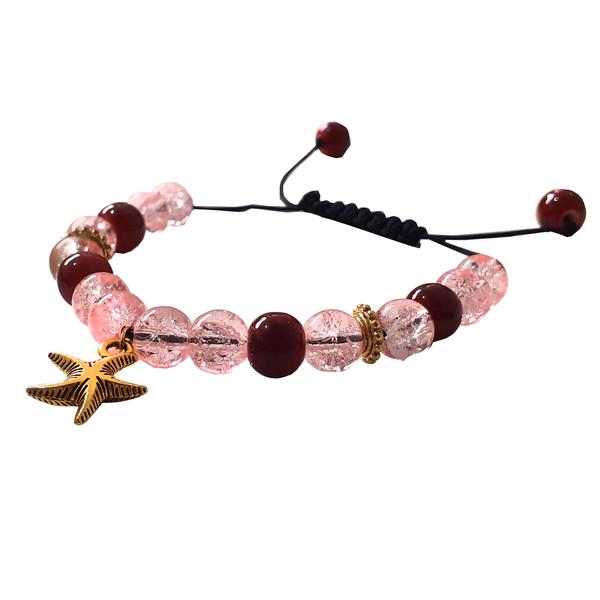 دستبند دخترانه مدل ستاره دریایی