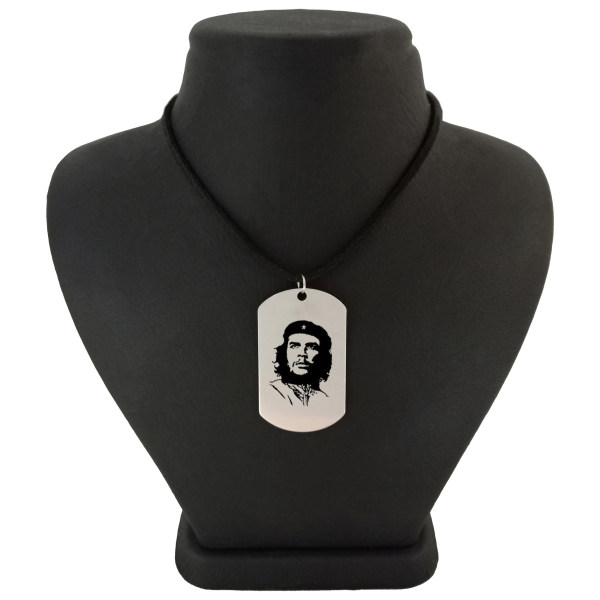 گردنبند مردانه ترمه ۱ طرح چگوارا مدل Sam 369