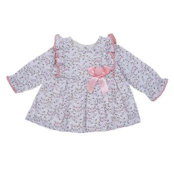 پیراهن نوزادی دخترانه فیورلا مدل 21210