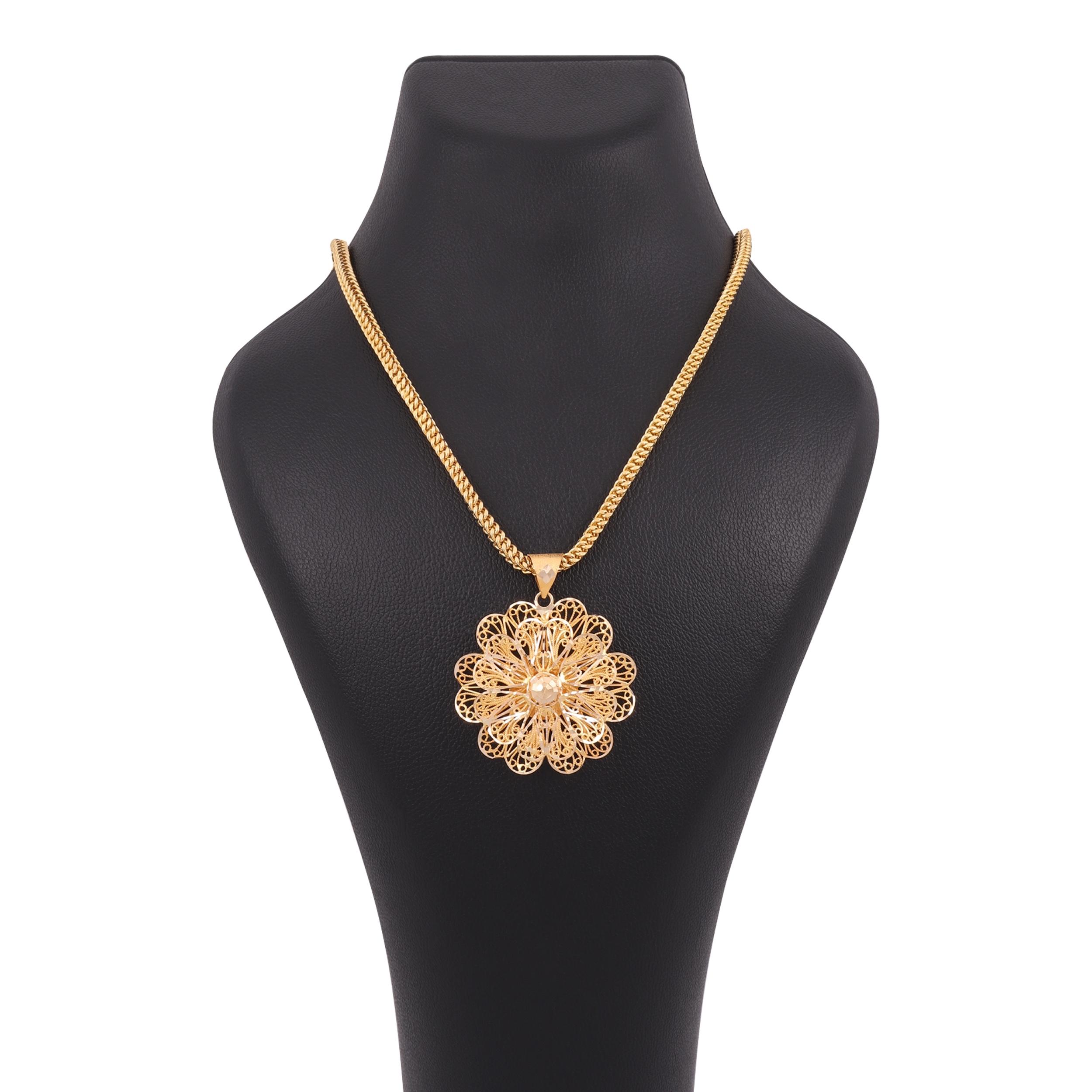 گردنبند طلا 18 عیار زنانه کد G669