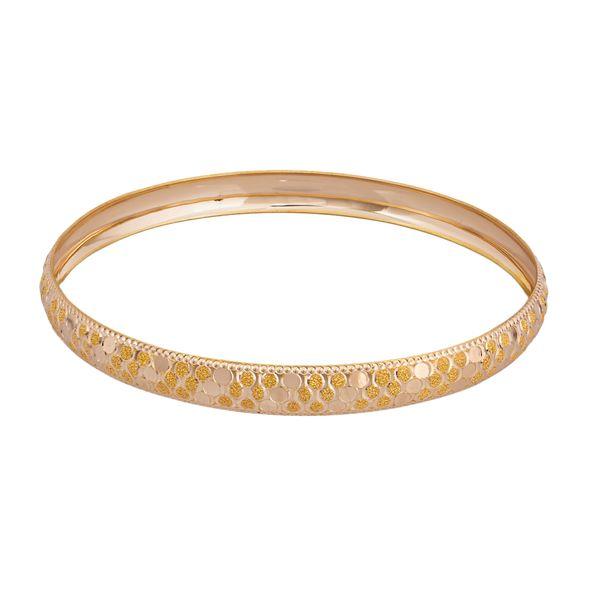 النگو طلا 18 عیار زنانه گالری یارطلا کد AL16-G-4