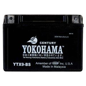 باتری موتورسیکلت یوکوهاما مدل YTX9-BS-9A