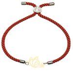 دستبند زنانه کرابو طرح پروانه  مدل kb13-51