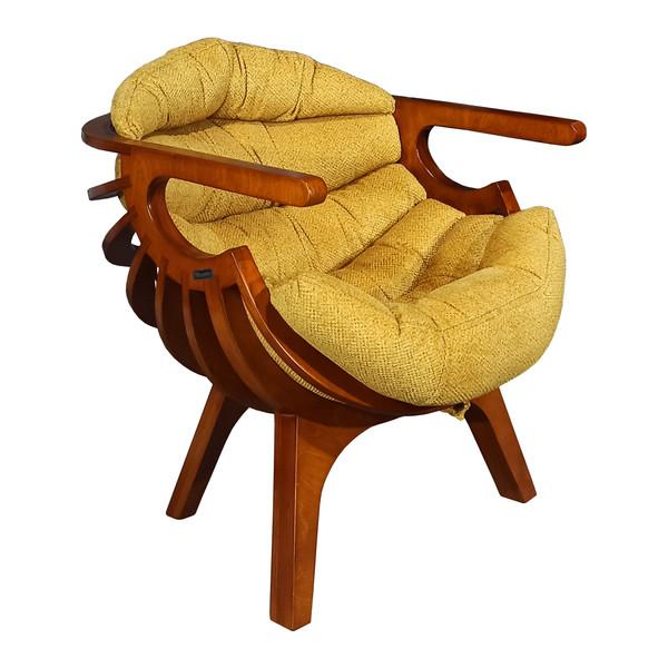 صندلی راحتی کامل مدل Legno کد Lina.Z
