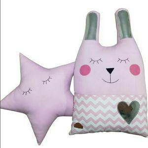 کوسن کودک مدل خرگوش و ستاره