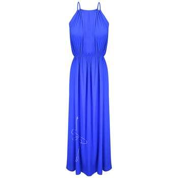 پیراهن ساحلی زنانه مدل BR044 رنگ آبی