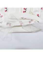ست 5 تکه لباس نوزادی نیروان طرح گل کد 4 -  - 4