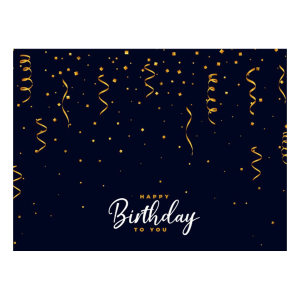 کارت پستال ماهتاب مدل تبریک تولد کد 2056