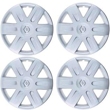 قالپاق چرخ صنایع خودرو حامد مدل SSH90 سایز 15 اینچ مناسب برای رنو L90 بسته 4 عددی