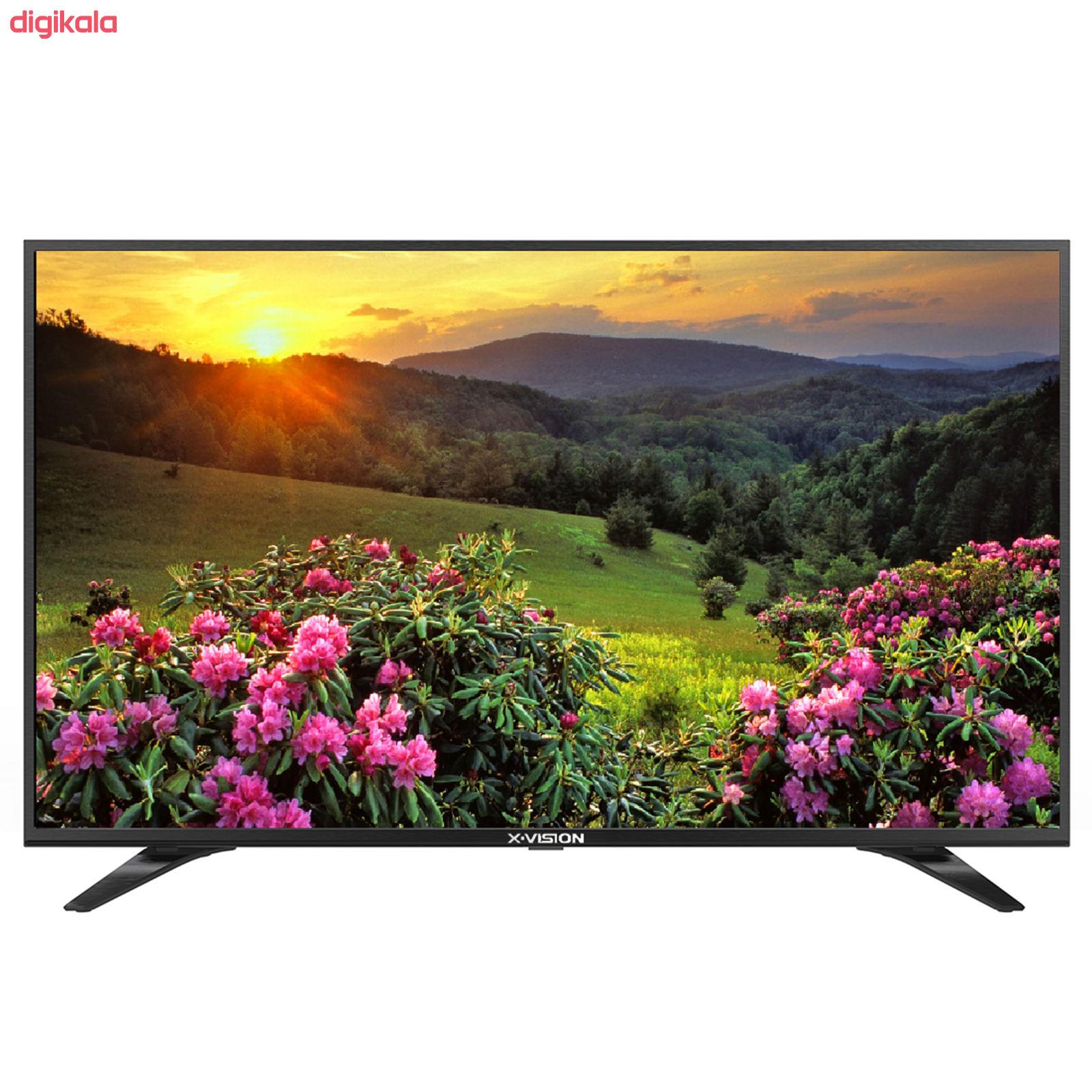 تلویزیون ال ای دی ایکس ویژن مدل 55XT540 سایز 55 اینچ main 1 2
