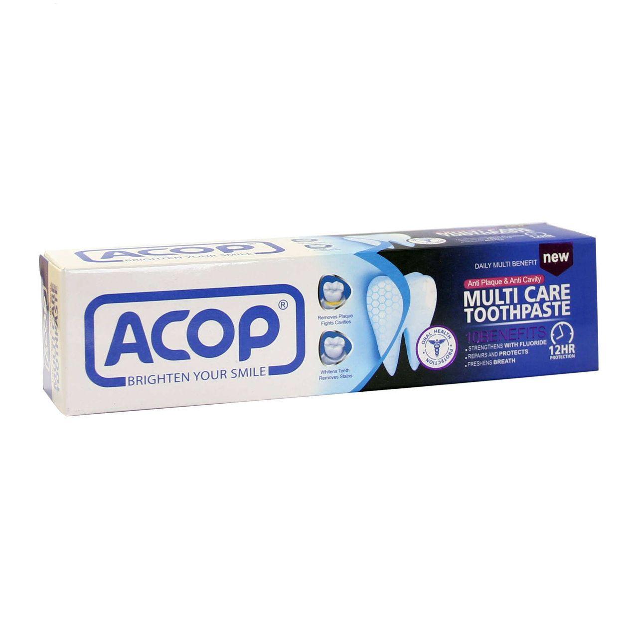 خمیر دندان آکوپ مدل 10کاره حجم 90 میلی لیتر