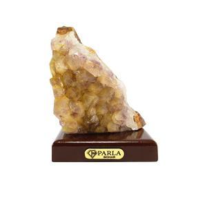 سنگ راف سیترین - آمیتیست پارلا گوهر کد 3290