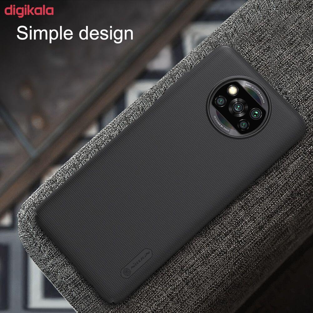 کاور نیلکین مدل Frosted Shield مناسب برای گوشی موبایل شیائومیRedmi Poco X3 NFC main 1 19