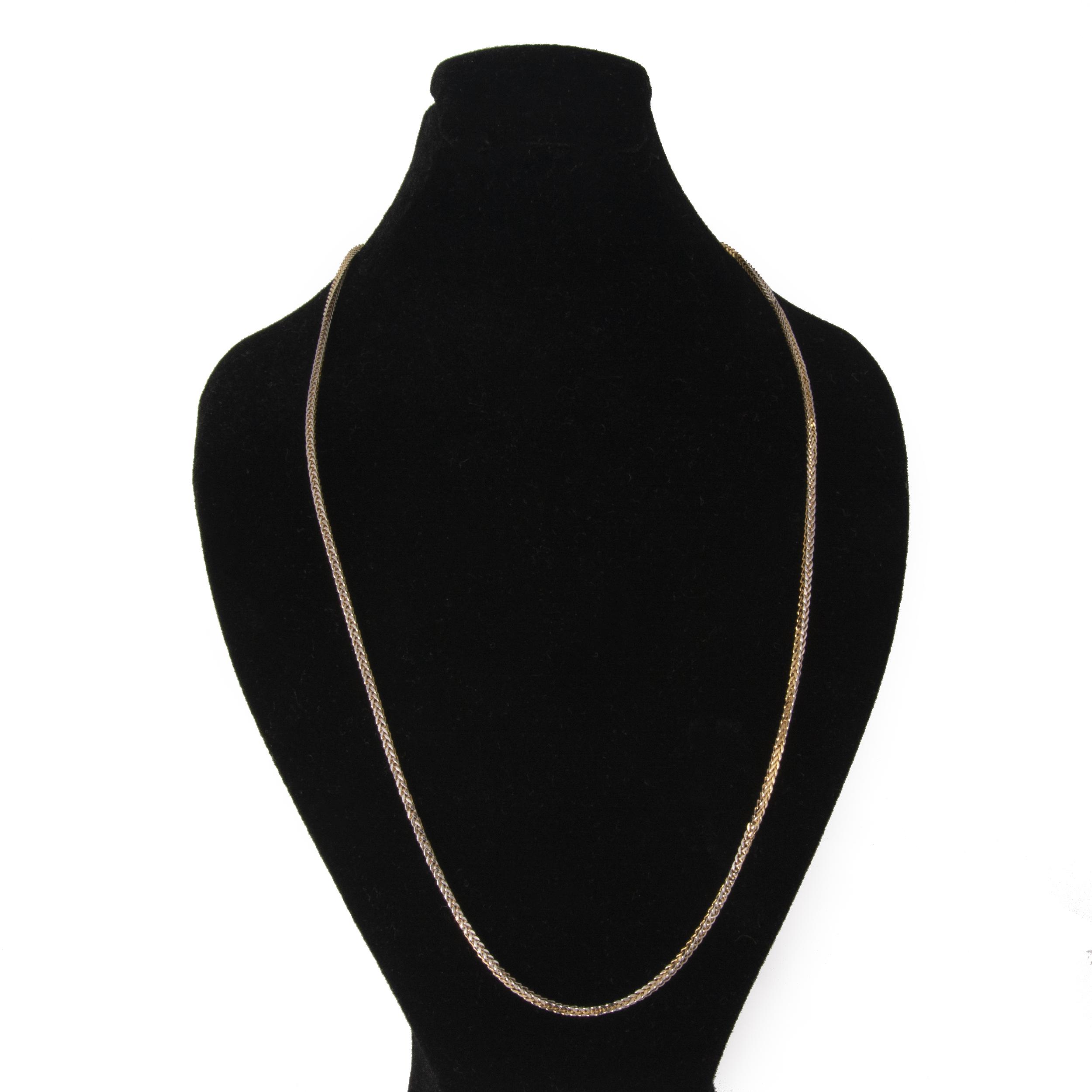 زنجیر طلا ۱۸ عیار زنانه مدل 67066