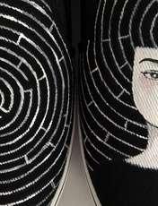 کفش روزمره زنانه دالاوین طرح هزارتو کد V-12 -  - 3