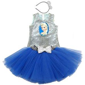 ست 3 تیکه لباس دخترانه کد FR-1456